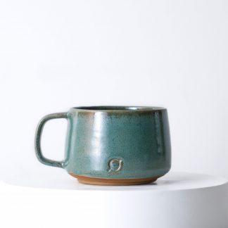 Handmade ceramic cappuccino mug made by Madeleine Vink of Gallery Nordeinde